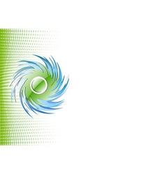 vortex ornament vector image vector image