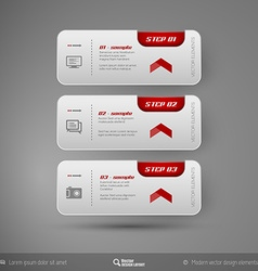 Business Stickers vector image vector image