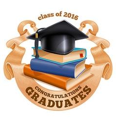 Graduations vector image