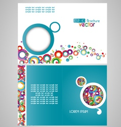 brochure vector image