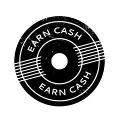 Earn Cash rubber stamp vector