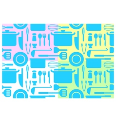 kitchen wallpapers vector image