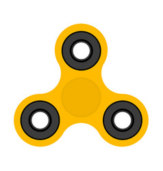 spinner toy for stress removal flat design vector image