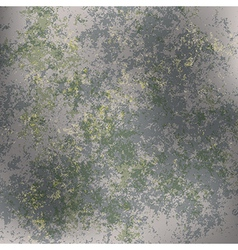 abstract grunge background of green rusty metall vector image