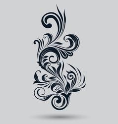Single Floral Ornamental vector image