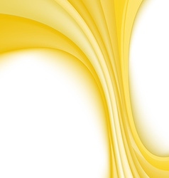 Abstract background with yellow lines vector