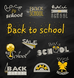 Back to School 6 vector
