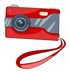 Cartoons digital camera vector