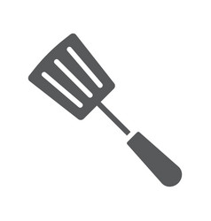 Kitchen spatula glyph icon kitchen and cooking vector