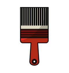 Paint brush tool icon vector