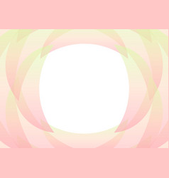 Pastel green pink petal abstract background vector