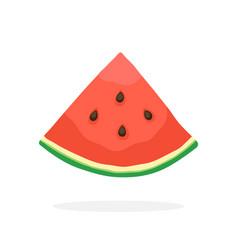 Quarter watermelon vector