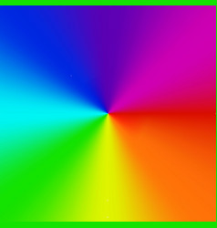 Radial gradient rainbow background vector