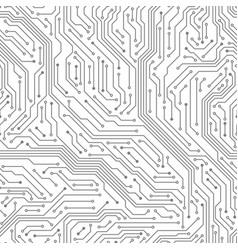 seamless circuit board digital technology vector image