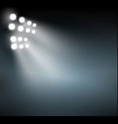 spotlight background show background light blue vector image