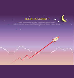 business start up concept vector image