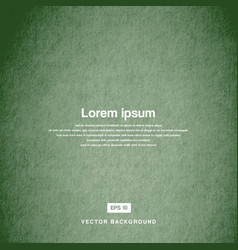 background design texture of the old paper green vector image