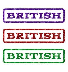 British watermark stamp vector