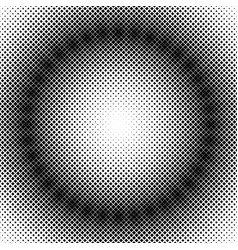 halftone square pattern background template vector image