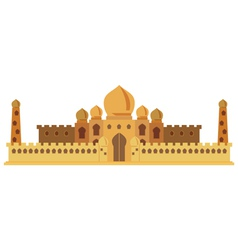 Indian Castle vector image