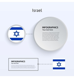 Israel Country Set of Banners vector