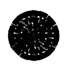 Stroke spiral stamp 61 vector