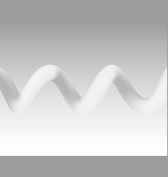 spiral color white on the gray background vector image