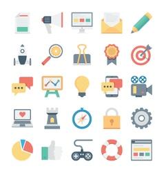 Digital Marketing Icons 1 vector image