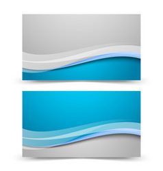 Business card backgrounds vector image vector image