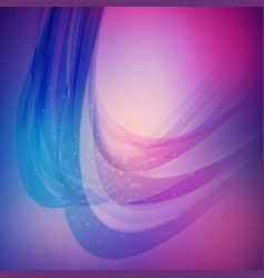 Abstract colorful background wave blurred soft vector