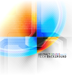 Abstract technical vector