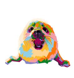 Baby seal vector