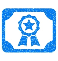 Certificate Grainy Texture Icon vector