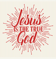 Christian biblical typography vector