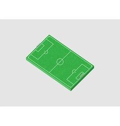 Football field 3d vector
