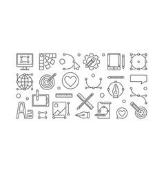 graphic design minimal or vector image