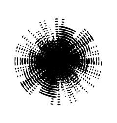 grunge swirl stamp vector image