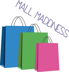 Mall Maddness vector