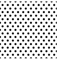 seamless circles dots pattern seamlessly vector image