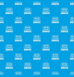 service conditioner pattern seamless blue vector image