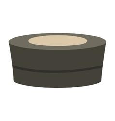 spa hot tub icon vector image