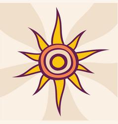 Sun abstract creative sun design summer sun vector