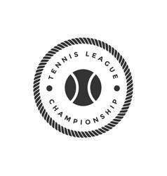Tennis sport graphic design inspiration vector