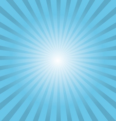 White rays background vector image