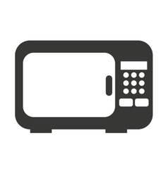 oven microwave isolated icon design vector image