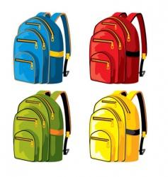 sport backpacks vector image
