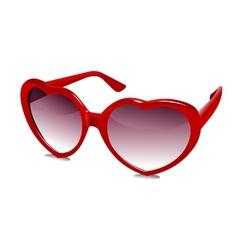 3D Sun Glasses 03 vector image vector image