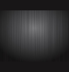 Black brushed metal steel background vector