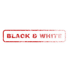 black white rubber stamp vector image