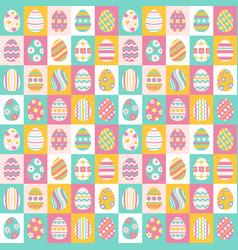 easter eggs for easter holidays design vector image